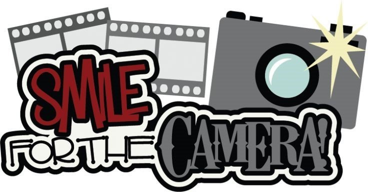 smile fore the camera clip art